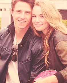 Bridget & Shane :)  cute couple even if they do or don't go out .