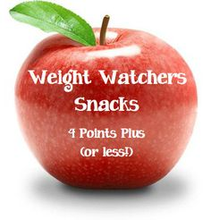 Weight Watchers Snack Ideas for 4 Points Plus (or less!)