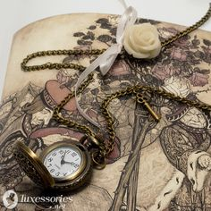 I have a weakness for pocket watches, and small things...