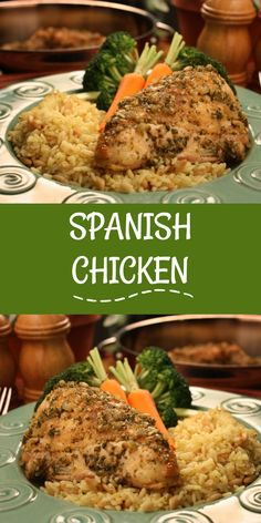 Spanish chicken spanish chicken picky eaters and spanish serve spanish chicken at your next get together and please even the pickiest of eaters forumfinder Gallery