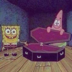 funny, meme e spongebob immagine su We Heart It Memes Spongebob, Cartoon Memes, Cartoon Pics, Cartoons, Spongebob Patrick, Stupid Funny Memes, Funny Relatable Memes, Memes Humor, Response Memes