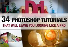 Very neat tutorials that get you learning to use the toolset better if you treat them like exercises. #Photoshop #tutorials
