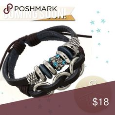 Spotted while shopping on Poshmark: 🆕 Stunning leather bracelet! #poshmark #fashion #shopping #style #Coco's Closet #Jewelry