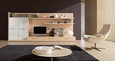 Modern scandinavian design living room interior
