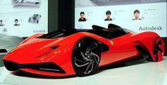 Ferrari World Design Contest First Place - Ferrari Eternita Concept