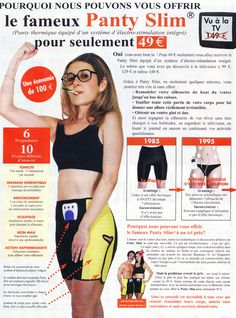 Le secret de ma ligne : Panty !