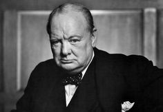 """Sir Winston Churchill - Last Words: """"I'm bored with it all."""""""