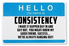 No fad or crash diet will do what consistency and dedication can. Fall down 7 and get up 8. Not perfection - consistency! Monday Motivation, Fitness Motivation, Training Motivation, Motivation Success, Consistency Is Key, Consistency Quotes, Plexus Products, Workout Partner, Workout Tips