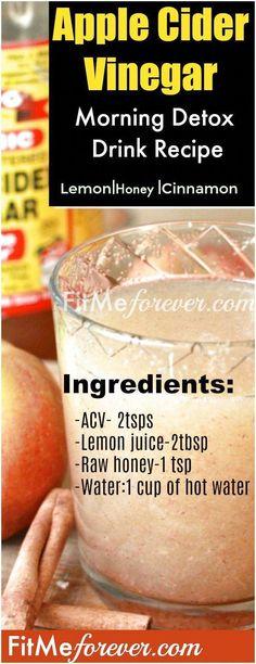 DIY Apple Cider Vinegar for Weight Loss Recipes 3 Detox Drink Recipes (cinnamon honey lemon juice) Apple Cider Vinegar Morning, Apple Cider Vinegar Shots, Apple Cider Vinegar Capsules, Apple Cider Vinegar Benefits, Organic Apple Cider Vinegar, Cinnamon Benefits, Apple Benefits, Lemon Benefits, Weight Loss Detox