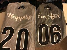 Disney couple shirt Happily Ever After - DIY