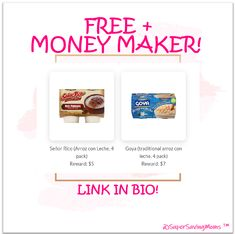 Get paid to taste food & submit feedback! Right now, you can get two 4-packs of Arroz con leche for #FREE plus make extra money as well! Free Product Testing, Taste Food, Food Tasting, Extra Money, Food And Drink, Yummy Food, Arroz Con Leche, Delicious Food