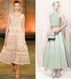 Modni trendovi za proljeće 2014.  #fashion
