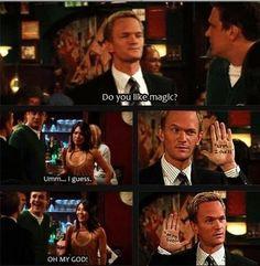 Some Barney Stinson magic