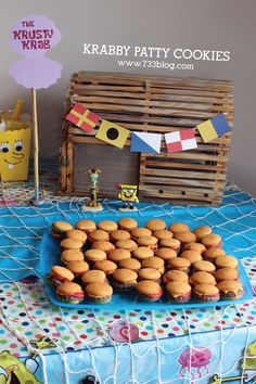 Krabby Patty Cookies