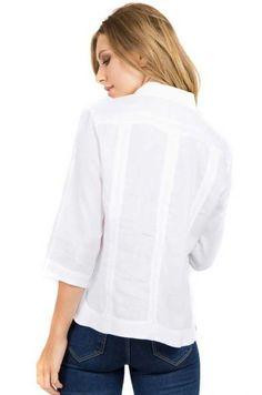 Blusa gasa espalda abierta crudo | SHEIN México