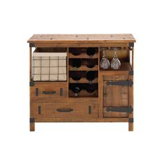 All in One Wine Chest | dotandbo.com. It's presently sold out and I want them to bring it back! Want this for the new sun room!!!
