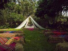 Una decoración de boda al puro estilo andino Image: 14