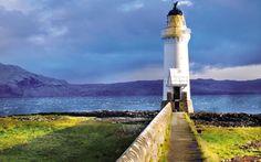 Tobermory est un petit village d'Écosse de la côte ouest, située sur l'île de Mull, dans les Hébrides intérieures de ce pays d'Europe du Nord.