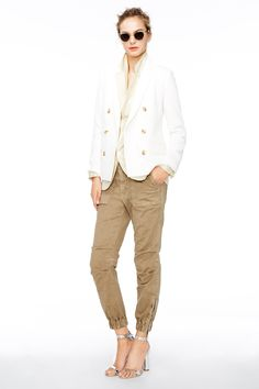 BRING BACK THE EVERYDAY CHINO!!!! I can't wear this to work!!! J.Crew women's spring/summer 2015 collection.