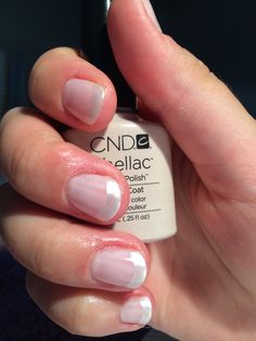 CND Shellac Romantique with Titanium Pearl additive