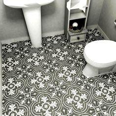 Fleura In X In Glazed Porcelain Floor And Wall Tile Sq - Encaustic tile home depot