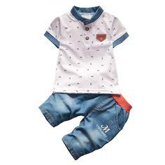 Clothing Sets 2019 Newborn Infant Toddler Kids Baby Boys Girls Fashion Ruffle Monkey Print Top+shorts Ribbon Design Outfits Clothes 2pcs Reputation First