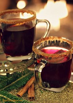 German Glühwein {Mulled Wine} & A Trip to the Christmas Market