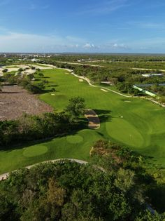 Iberostate golf course in Punta Cana by P.B. Dye. Located inside the Iberostar Resort.