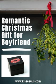 Mistletoe Kisses are just what your boyfriend wants for Christmas this year...get him Kisses 4 Us!