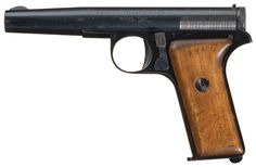 Incredibly Rare Serial Number 7 Yovanovitch Model 1931 Semi-Automatic Prototype Pistol