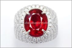 Sparkling Hot & Metalik Pigeon Blood Ruby Cutting (RBC 172)