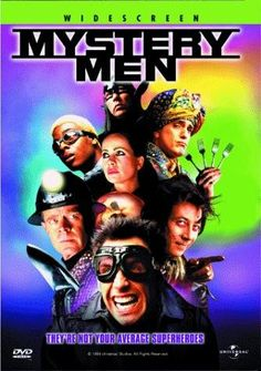 """""""Quase Super-Heróis"""" (1999) é uma paródia aos supergrupos de heróis dos quadrinhos. Pode apostar: é mais engraçado hoje que na época em que foi lançado. #comedia #fantasia #anos90"""