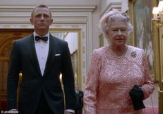 Starring role: The James Bond skit which featured the Queen was a joke - but one with purpose