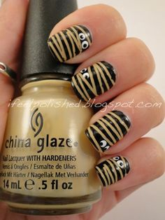 Falling for Fall- Day 6 Fall Nail Designs « The DIY Show