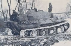 A command Panther Ausf A nr. I03 has been left to the advancing Russians