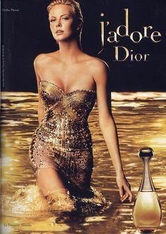 Charlize Theron Dior J Adore Perfume Ad Dior