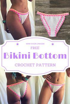 Crochet, crochet bikini, crochet bikini bottoms, bottoms, crochet swim, crochet swimsuit, crochet swim bottoms