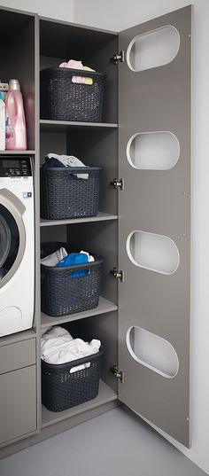 utility room ideas - utility room ideas ` utility room ` utility room ideas small ` utility room storage ` utility room ideas layout ` utility room ideas storage ` utility room organization ` utility room with toilet Laundry Room Shelves, Laundry Room Layouts, Laundry Room Cabinets, Laundry Room Organization, Laundry Room Design, Basement Laundry, Laundry Storage, Diy Cabinets, Kitchen Cabinets