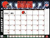 """Turner Cleveland Browns 2016 Desk Calendar January-December 2016 22 x 17"""" (8061533)"""