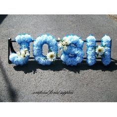 Dad wreath gravesite wreath cemetery silk flowers memorial any four letter name frame funeral tribute wreath artificial flowers 5600 mightylinksfo
