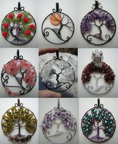 Hello everyone! First off, I want to apologize for not posting any of my usual things... I've been really focused on making these tree of life pendants. I wanted to give you an updated collage of w...