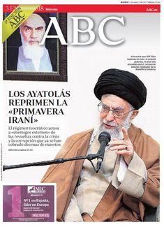 La portada de ABC del miércoles 3 de enero