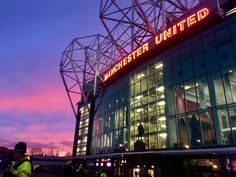 Manchester United, The Unit, Neon Signs, Man United