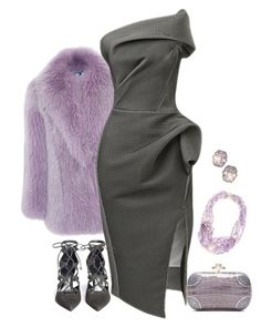 """""""there's a luxe party"""" by bodangela ❤ liked on Polyvore featuring Blumarine, Maticevski, Stuart Weitzman, Bottega Veneta and Alexis Bittar"""