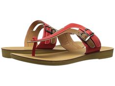Womens Sandals C Label Kona-3 Red