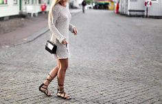 GLADIATOR #streetstyle #knit #dress #saboskirt #outfit #summer