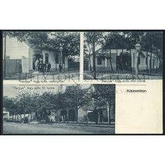 KISZOMBOR 1920. cca Hangya üzletek, ritka régi képeslap ## - Helytörténet Webshop
