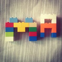 152/365 This lego letters was made by my daughter #365rounds #365typerounds #typography #customtype #goodtype #thedailytype #ilovetypography #goodletters #letterdesign #type #typedesign