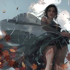 Beautiful Fantasy Art, Dark Fantasy Art, Anime Fantasy, Fantasy Girl, Cool Anime Girl, Anime Art Girl, Fantasy Drawings, Fantasy Artwork, Fantasy Character Design