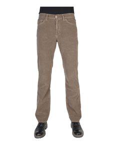 Carrera jeans - jeans uomo velluto coste regular fit con zip - 5 tasche - composizione:100% co - lavare 40° - Jeans uomo Marrone